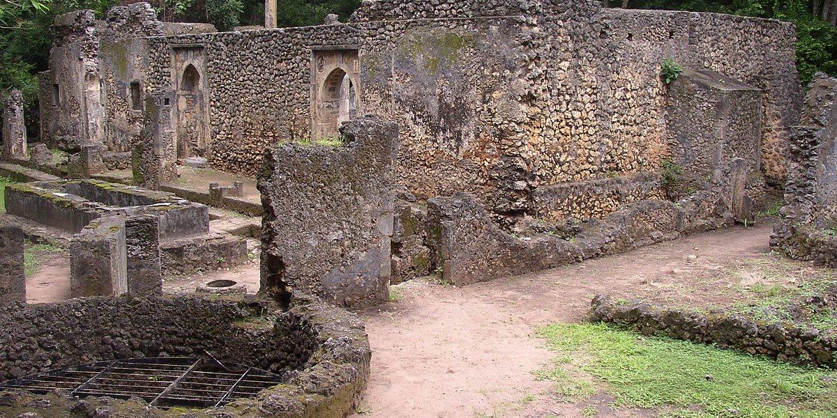 Gedi001 - Historical & Cultural Sites in Kenya: Gedi ruins