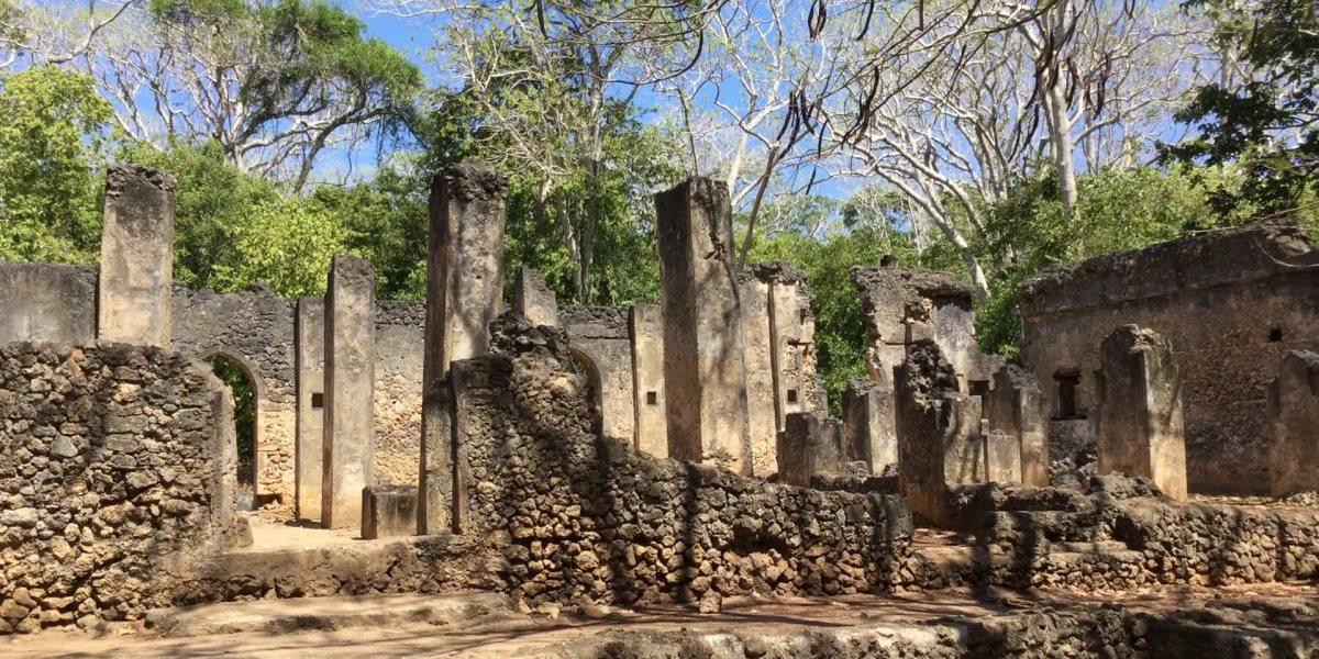 Gedi003 - Historical & Cultural Sites in Kenya: Gedi ruins